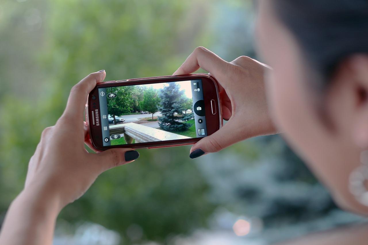 携帯カメラを使って今までの人生で最も綺麗な写真が撮れた