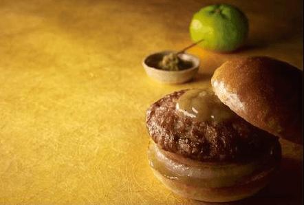 豊後和牛ステーキハンバーグバーガー
